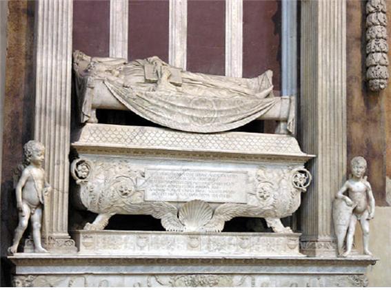 산타 크로체 성당(인문주의자이자, 법관이었던 칼로 마르수피니의 묘).jpg