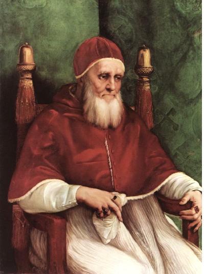 율리우스 2세 교황의 초상화.jpg
