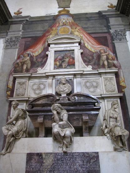 산타 크로체 성당 07(미켈란젤로 무덤).jpg
