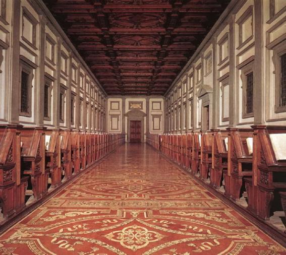 라우렌치아노 도서관(미켈란젤로 설계) 01.jpg