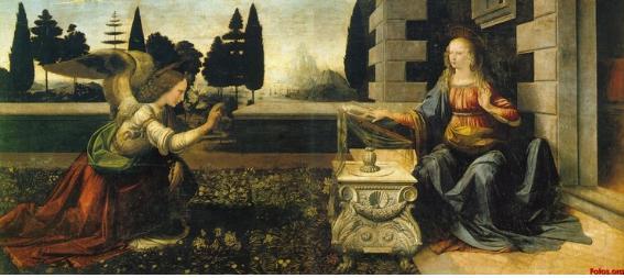 레오나르도 다빈치의 수태고지.jpg