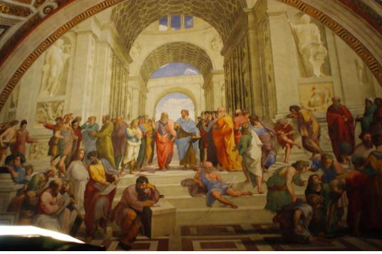 바티칸 시국 012(라파엘로의 아테네 학당).jpg